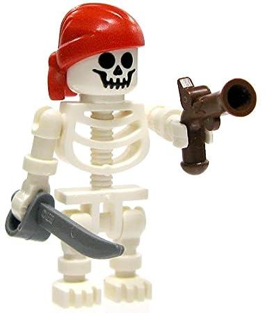 Amazon.com: LEGO Pirates Skeleton Pirate Minifigure [Flintlock ...