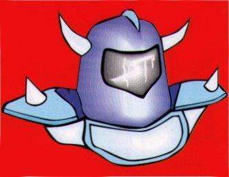 Nintendo Legend of Zelda Merlin 194 Iron Knuckle Sticker