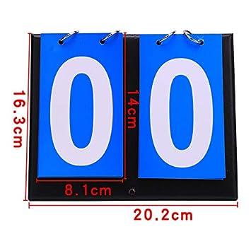 Tabellone segnapunti Multi cifre per Tennis Badminton Basket Calcio 2 Digits Grizack