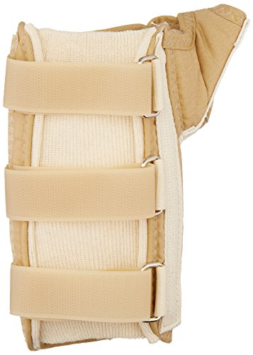 Rolyan D-Ring Wrist and Thumb Spica Splint for Left Wrist...