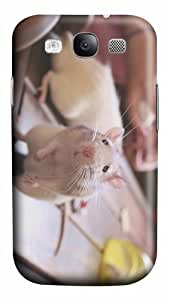 online cover cute rat PC case/cover for Samsung Galaxy S3 I9300