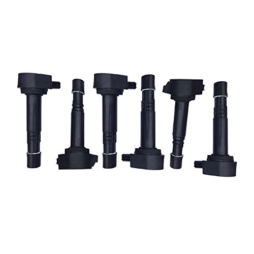 DRIVESTAR UF242x6 Set of 6 New Ignition Coil fits ONLY Accord 3.0L TL CL 3.2L Odyssey RL TL 3.5L