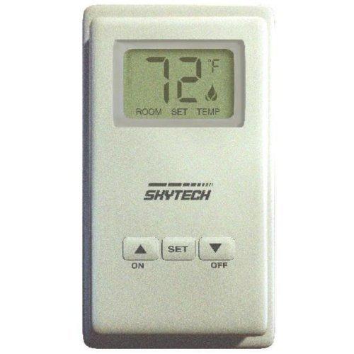 Skytech 9800332 TS/R-2 Wireless Wall Mounted LCD Fireplac...