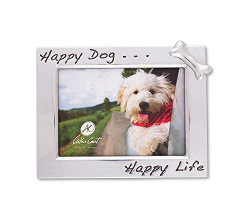 - Arthur Court 'Happy Dog Happy Life' Bone Embellished 5