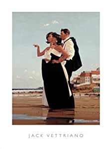 The Missing Man II Art Poster Print by Jack Vettriano, 24x32