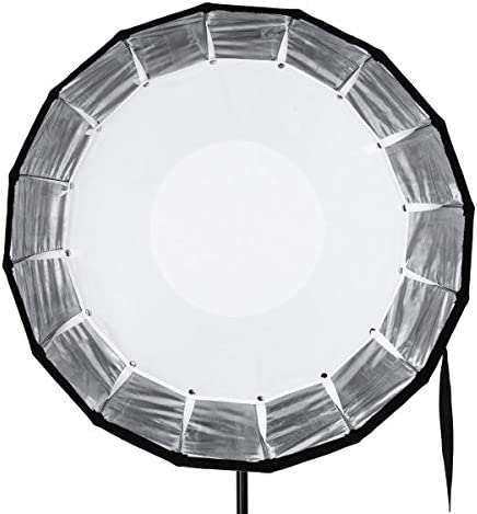 """Glow EZ Lock Collapsible Silver Beauty Dish (25"""")"""