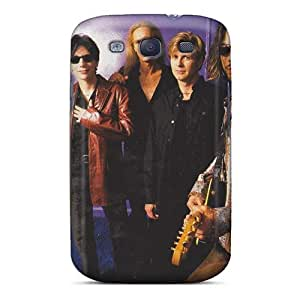 Shock Absorbent Hard Phone Cases For Samsung Galaxy S3 (Fmt502kqfa) Support Personal Customs Trendy Mr Big Band Pattern