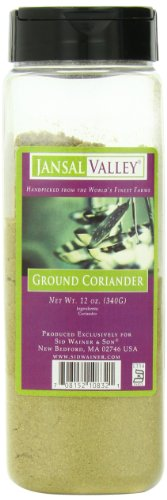 Jansal Valley Ground Coriander, 12 Ounce by Jansal Valley