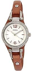 Fossil Women's ES3472 Georgia Analog Display Analog Quartz Pink Watch