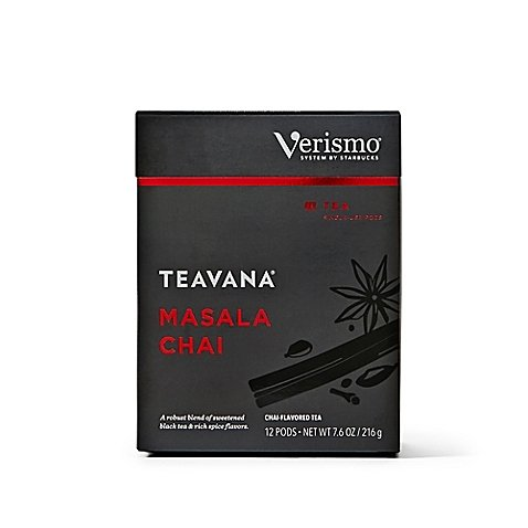 Starbucks Verismo Teavana Masala Chai Tea Pods (72 Pods) by Starbucks