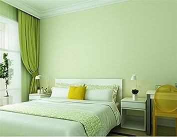 Xzzj Grüne modernen minimalistischen Non woven reine Farbe grau ...