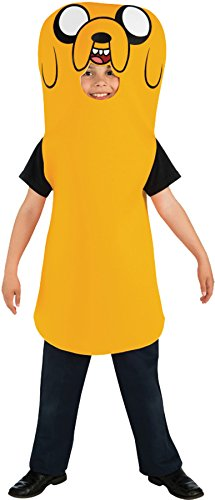 Jake The Costume Dog (UHC Boy's Adventure Time Jake Funny Theme Fancy Dress Child Halloween Costume, Child M)
