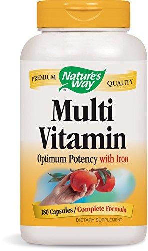 Nature's Way Multivitamin, 180 Capsules