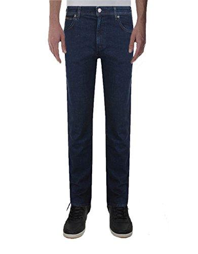 Wrangler Herren Straight Leg Jeanshose Blau Blau