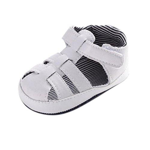 Zapatos bebé, Culater sandalias recién nacidos 0~18 meses Blanco