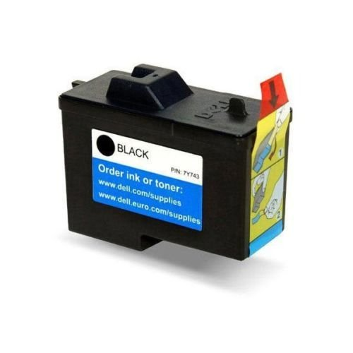Dell Computer 7Y743 2 Standard Capacity Black Ink Cartridge for A940/A960 {High - Resolution High Black Cartridge