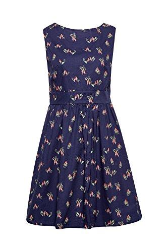 Navy Mehrfarbig ESPRIT 400 Damen Kleid Cq00vf