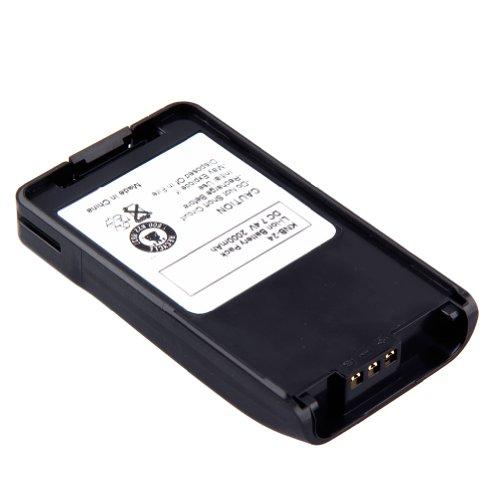 TOPCHANCES 3 Pack Portable Two-Way Radio Interphone 7.4V 2000mAh Li-ion Battery KNB-24 KNB-24L KNB-35 KNB-35L KNB-56 KNB-56L KNB-57 KNB-57L for KENWOOD Portable Radios TK-2140 TK-3140 TK-2148 TK-3148 by TOPCHANCES (Image #4)