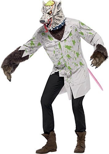 Lab Rats Costumes (Smiffys Men's Experiment Lab Rat Costume)