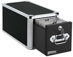 Amazon Com Vaultz Locking Single Drawer Cd File Cabinet