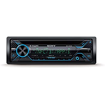 amazon sony mex xb100bt single din hi power bluetooth in dash Sony Cdx Wiring Diagram Pin sony mex xb120bt single din hi power bluetooth in dash cd am fm siriusxm ready car stereo with 180w rms cea rated power built in 4 channel 45w x 4