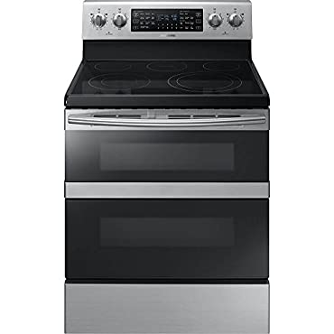 Samsung NE59M6850SS 5.9 Cu. Ft. Flex Duo Stainless Steel Electric Range