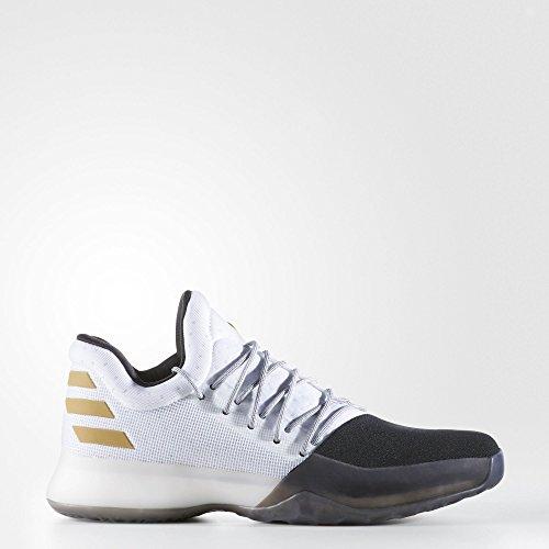 adidas , Chaussures spécial basket-ball pour homme blanc Bianco