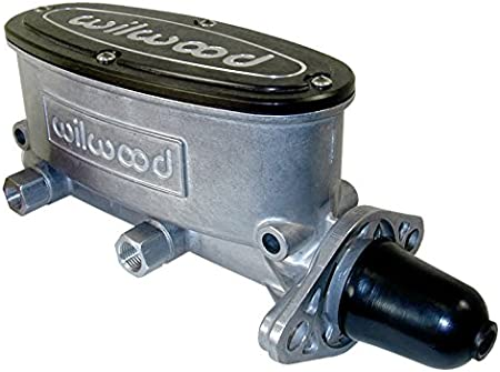 1 BORE DUAL OUTLET SOUTHWEST SPEED NEW WILWOOD ALUMINUM TANDEM CHAMBER MASTER CYLINDER