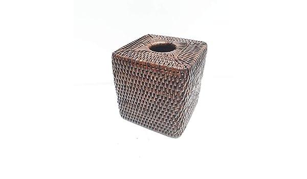 BYRMAY 10011 - Caja para Kleenex, ratán, marrón, STD: Amazon.es: Hogar