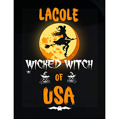 Inked Creatively Lacole Wicked Witch of USA Sticker