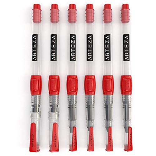 Arteza Real Brush Creative Bundle includes: Real Brush Pens, Watercolor Pads and Water Brush Pens