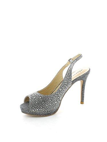 ALMA EN PENA Damen Sandalen, Farbe Grau, Marke, Modell Damen Sandalen V17087 Grau Grau