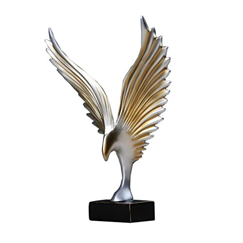 MSchunou Pure hand-made American modern Dapeng wings study room living room office wine cabinet furnishings, environmental performance, personalized home decoration creative ornaments home accessories