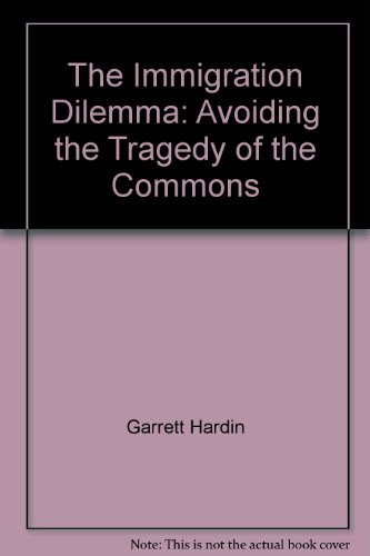 The Immigration Dilemma: Avoiding the Tragedy of the Commons