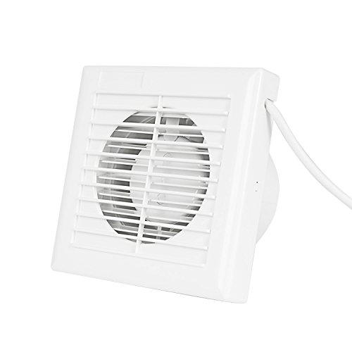 hon u0026guan 4 u2033 home ventilation fan bathroom garage exhaust fan window and wall mount fan for