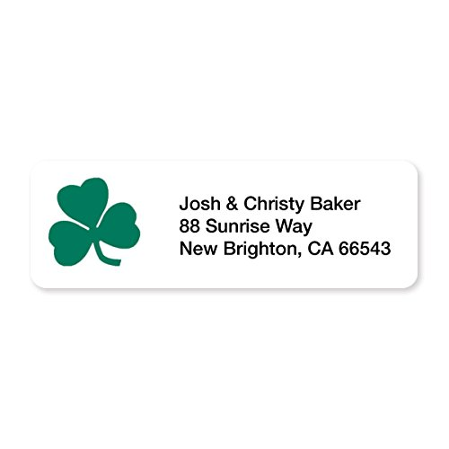 Shamrock Green Set of 215 Sheeted Address Labels