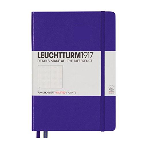 Cheap  Leuchtturm Hardcover Medium A5 Dotted Notebook [Purple]