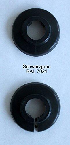 Único de rosetones para tubos de calefacción, protectora para tubos de calefacción, calefacción,