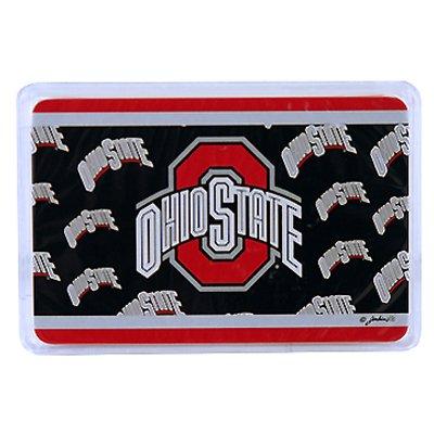 NCAA Ohio State Buckeyes Crystal Box Playing Cards