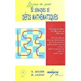 52 Semaines de Defis Mathématiques