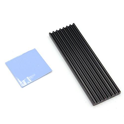 100% Metal Heatsink M.2 SSD NGFF Hard Drive NVME