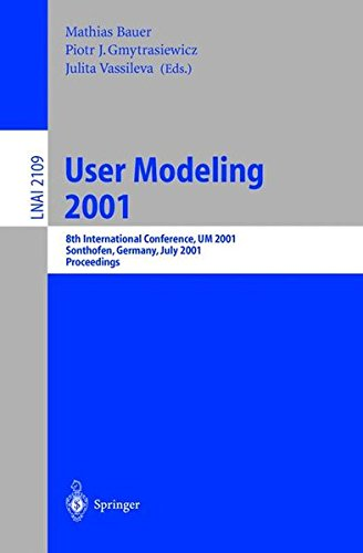 Download User Modeling 2001 pdf