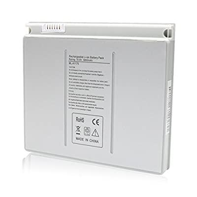 Laptop Battery for Apple MacBook Pro 15 inch A1175 A1211 A1226 A1260 A1150 2006 2007 2008 Version Laptop battery 10.8V 5800Mah from Easy Style Inc