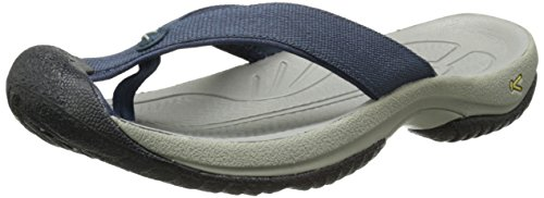 KEEN Men's Waimea H2 Beach Sandal, Midnight Navy/Neutral Gray, 9.5 M US
