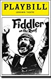 Fiddler on the Roof: Playbill for the Gershwin Theatre, 1991.