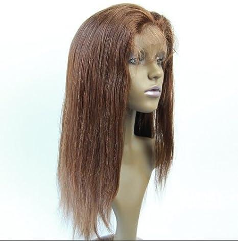 Completo Pelucas De Encaje brasileño de pelo natural parte Invisible Peluca de Cabello Humano Recto # 1B # 1 # 2 # 4 Color marca: Hairpr: Amazon.es: Belleza