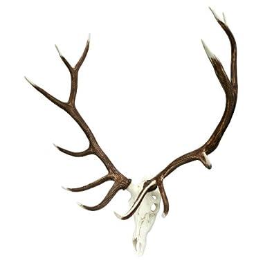 Faux European mount Elk Antlers by Muskoka Lifestyle Products