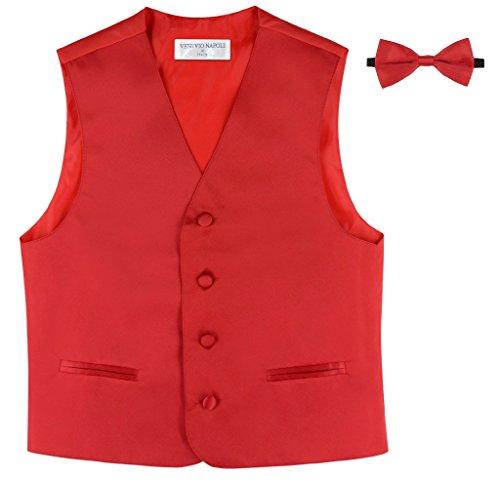 BOYS Dress Vest Solid Color
