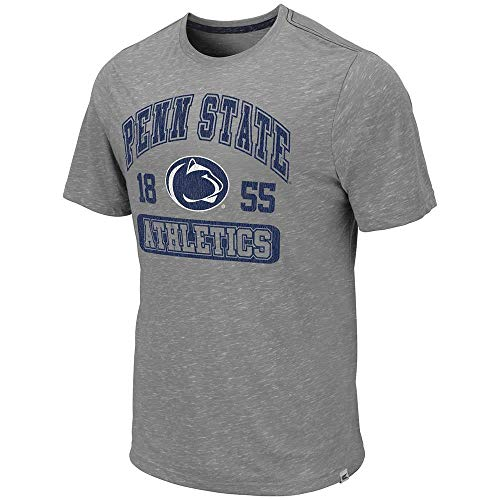 Colosseum Mens Penn State Nittany Lions Campinas Short Sleeve Tee Shirt - L