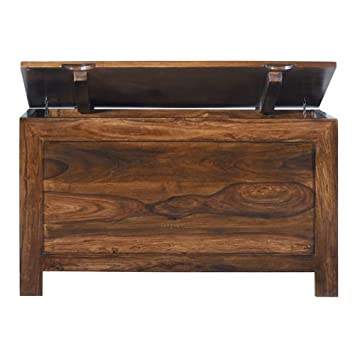 Cuba Sheesham Blanket Box - Indian Wood Furniture
